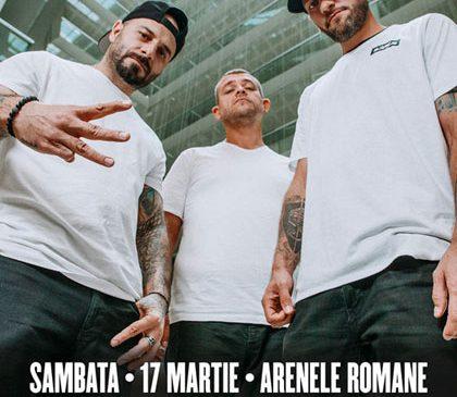 Concert B.U.G. Mafia la Arenele Romane (în cort încălzit)