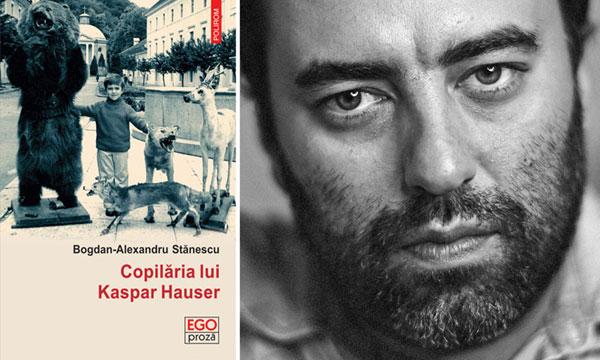 """Bogdan-Alexandru Stănescu, laureat al Festivalului primului roman de la Chambéry, Franța pentru """"Copilăria lui Kaspar Hauser"""""""