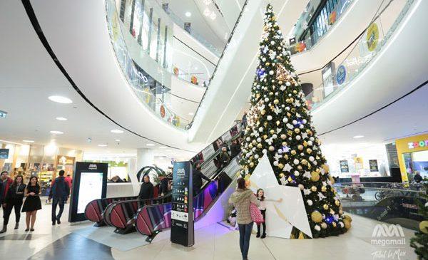 Moș Crăciun și ajutoarele lui vin la Mega Mall în perioada 17 – 24 decembrie
