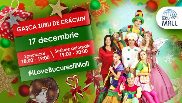 Gasca Zurli la Bucuresti Mall 17 decembrie 2017