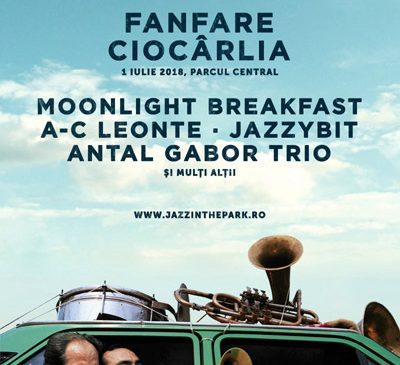 Una dintre cele mai apreciate formaţii românești în întreaga lume, Fanfare Ciocârlia, primul headliner anunțat la Jazz in the Park 2018