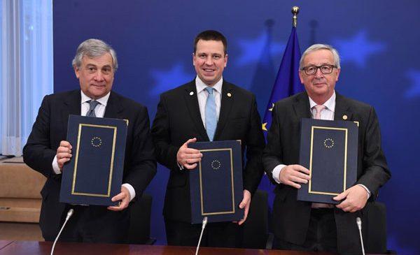 Declarație comună privind prioritățile legislative UE 2018-2019