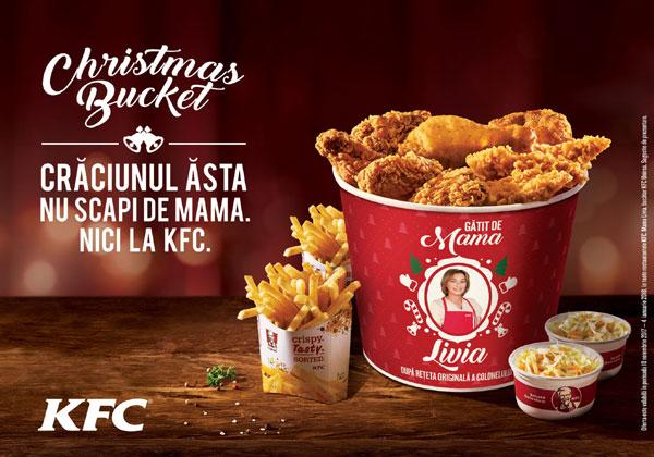 KFC Christmas Bucket Romania