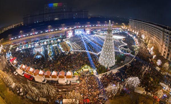 Târgul de Crăciun București a atins un număr record de vizitatori în 2017