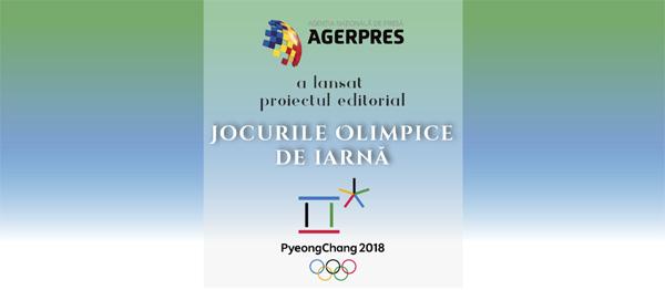 AGERPRES a lansat proiectul editorial Jocurile Olimpice 2018