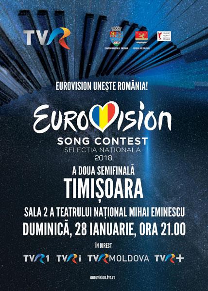 Afis Semifinala 2 Eurovision