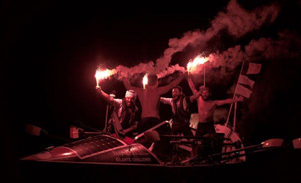 Un nou record pentru Atlantic4, prima echipă din România care a traversat vâslind Oceanul Atlantic