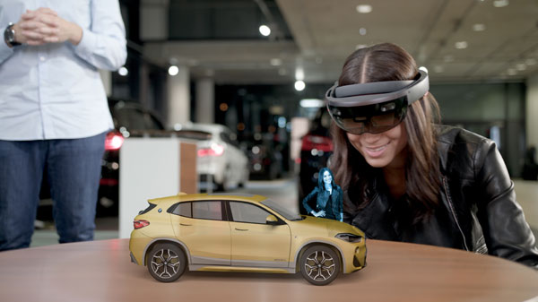 BMW X2 Holo Experience mixed reality experience for the new BMW X2 campaign in cooperation with Microsoft HoloLens