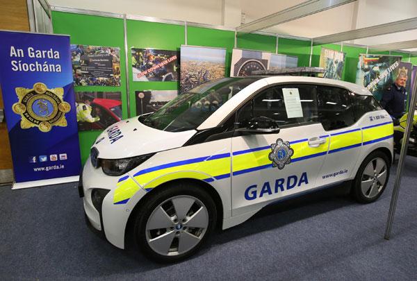 BMW i3 in teste pentru Politia Irlandeza, An Garda Síochana