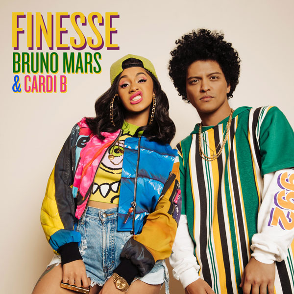 Bruno Mars Feat. Cardi B, Finesse, remix
