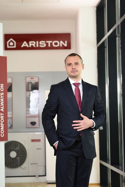 Catalin Draguleanu, Country Manager Ariston Thermo Romania