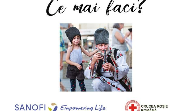 Sanofi România și Crucea Roșie Română și-au unit forțele pentru 1.500 de copii și vârstnici, din 13 județe
