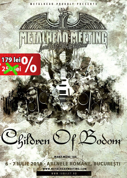 Children Of Bodom la Metalhead Meeting Festival 2018