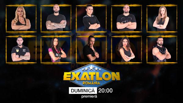 """Telespectatorii vor avea un cuvant greu de spus in alegerea castigatorului """"Exatlon"""""""