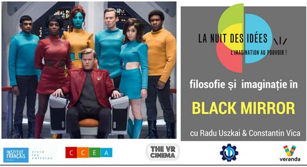 Filosofie & Imaginatie in Black Mirror @VR Cinema
