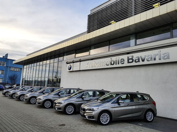 Fleet Delivery, 7 BMW Active Tourer 225xe iPerformance at Automobile Otopeni
