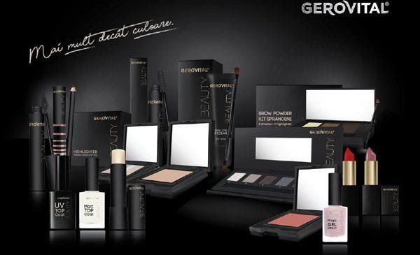 Farmec începe 2018 cu o premieră: lansarea gamei de cosmetică decorativă Gerovital Beauty