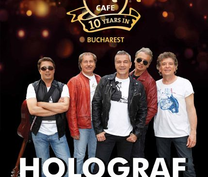 Hard Rock Cafe București sărbătorește 10 ani de la deschidere alături de trupa Holograf