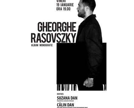 Lansare album monografic Gheorghe Rasovszky