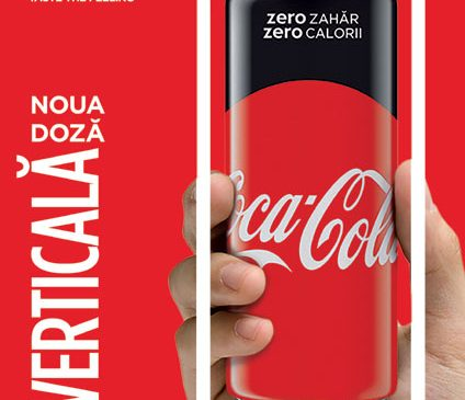 Noua doză Coca-Cola. Verticală. Exact ca lumea ta
