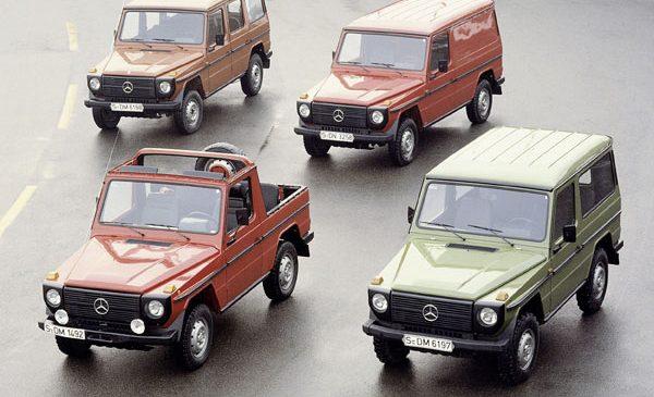 Noul G de la Mercedes-Benz