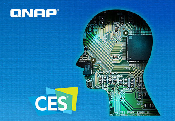 QNAP, AI, IoT Mini Server, robot de companie la CES 2018