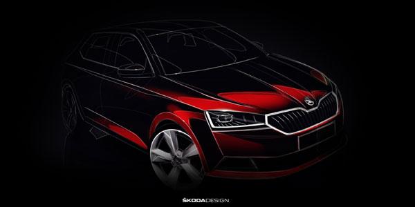 ŠKODA FABIA facelift va fi prezentată în premieră mondială, la Salonul Auto de la Geneva