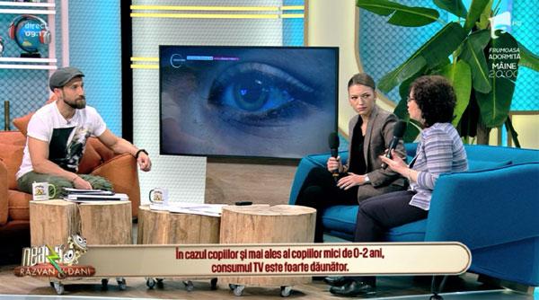 Sabrina Preda, Observator, autism virtual