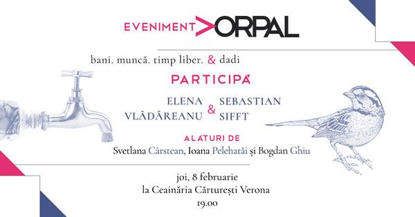 Seara de poezie Vorpal cu Elena Vladareanu si Sebastian Sifft