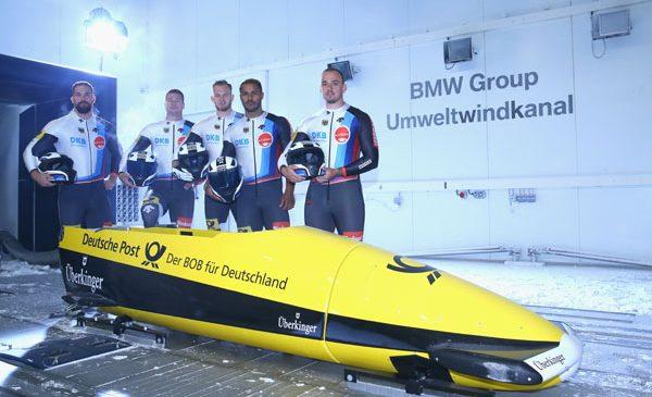 Tehnologia BMW echipează boburile Germaniei la Jocurile Olimpice