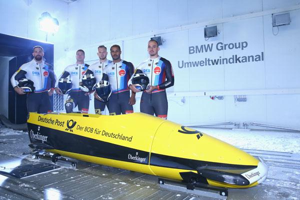 Tehnologia BMW echipeaza boburile Germaniei la Jocurile Olimpice
