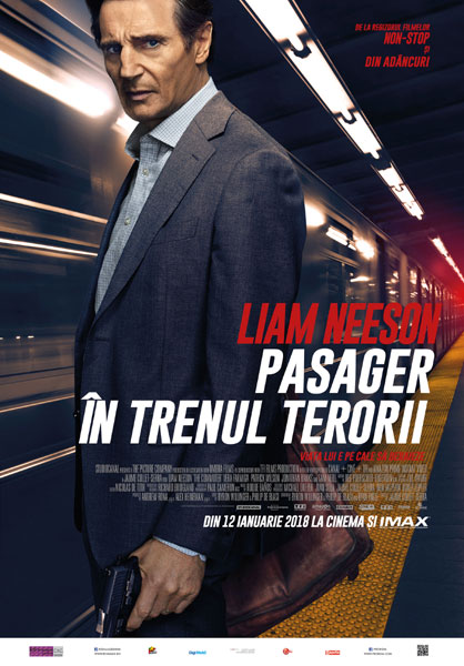 The Commuter, Pasager in trenul terorii