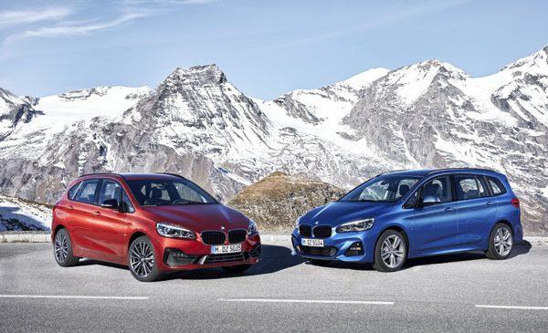 Noile BMW Seria 2 Active Tourer şi BMW Seria 2 Gran Tourer