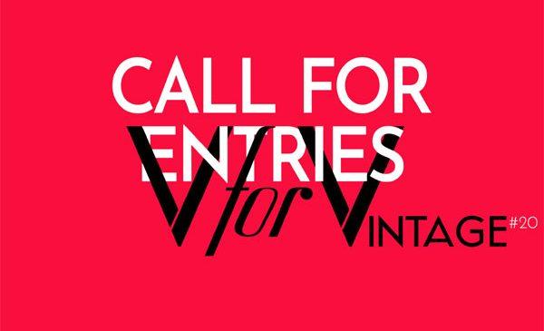 Au început înscrierile pentru designeri și colecționari la ediția de primavară V for VINTAGE 20