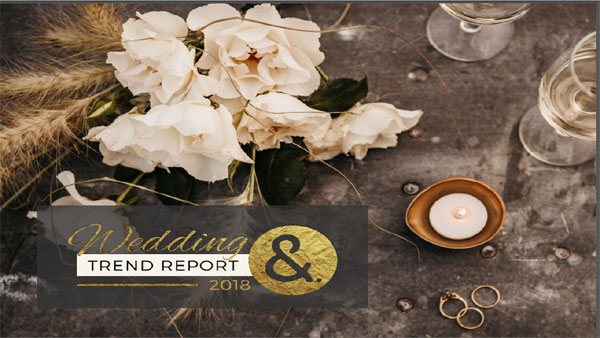 Wedding trend report 2018