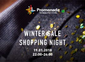 """Promenada sărbătorește sezonul reducerilor pe 19 ianuarie la """"Winter Sale Shopping Night"""""""