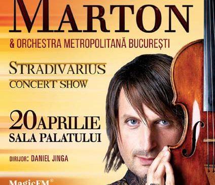 """Edvin Marton aduce """"Stradivarius"""" la București"""