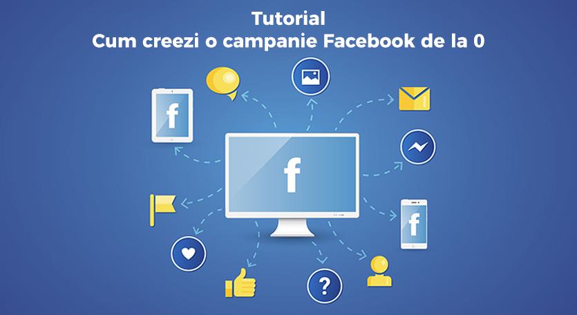 tutorial cum sa creezi o campanie pe Facebook de la 0