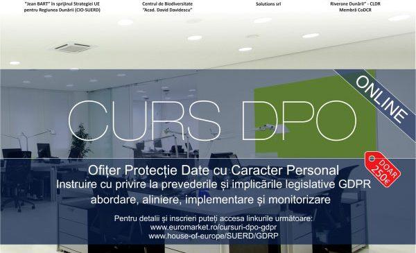 Aplicarea Regulamentului UE – GDPR privind protecția datelor cu caracter personal