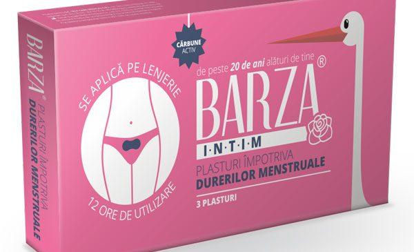 BARZA lansează plasturii împotriva durerilor menstruale