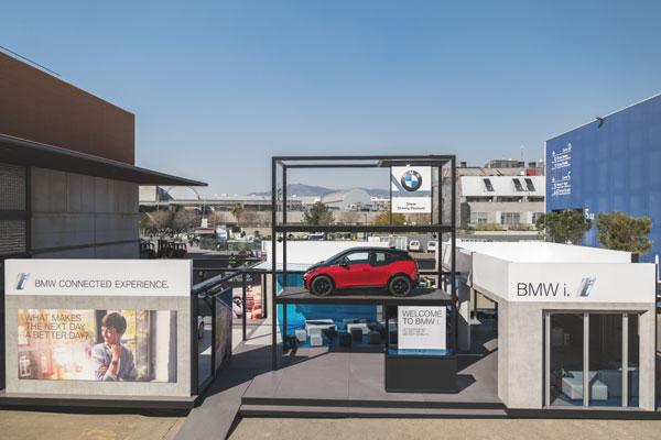 BMW @ MWC 2018