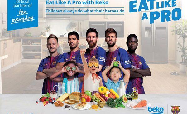 Beko prelungește și extinde acordul de sponsorizare cu FC Barcelona și devine Partener Global Principal al clubului FC Barcelona