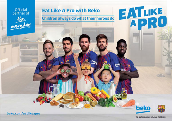 Beko, Eat Like A Pro