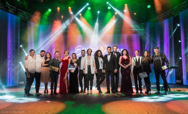 Eurovision România: Erminio Sinni & Tiziana Camelin, Xandra şi Vyros au câştigat semifinala de la Craiova