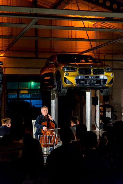Concert Bach la Automobile Bavaria Otopeni