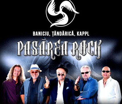 Concert Pasărea Rock – Mircea Baniciu, Ovidiu Lipan Țăndărică, Josef Kappl la Hard Rock Cafe