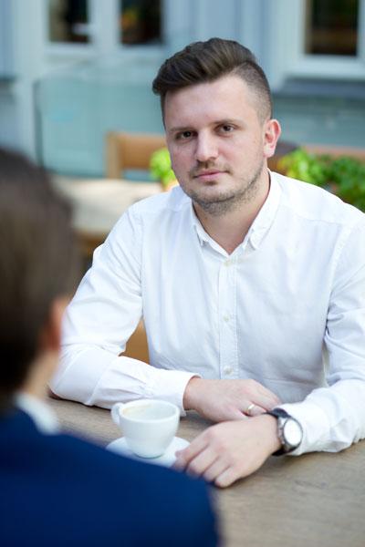 Dominik Karbowski, vicepresedinte Selectivv Mobile House