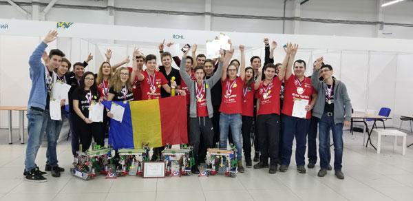 Echipa de robotică AutoVortex România câștigă locul I la FTC Rusia Open și se califică la Campionatul Mondial de Robotică din Detroit, SUA