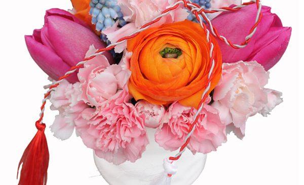 Găsește cadoul perfect pe Florăriamobilă.ro: un mărțișor parfumat