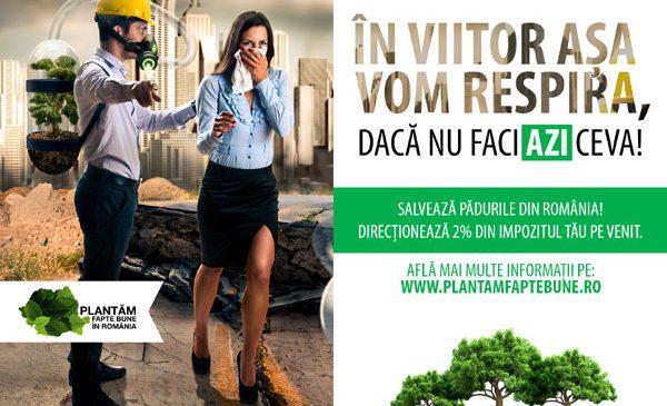 Direcționează 2% din impozitul tău pe venit pentru salvarea pădurilor